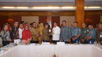 Isdianto Sampaikan Prioritas Pembangunan Kepada Komisi V DPR RI