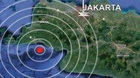 Gempa Bermagnitudo 5,4 Berpusat di Rangkasbitung, Terasa Hingga Jakarta