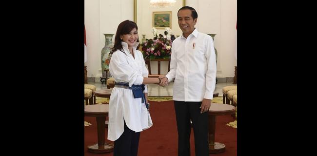 Disomasi Gegara Ngaku Ditolak Proyek Karena Foto Dengan Jokowi, Ike Muti Tutup Kolom Komentar IG