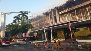 Terjunkan 65 Mobil Damkar, Api di Gedung Kejagung Akhirnya Padam, Dokumen Perkara Aman