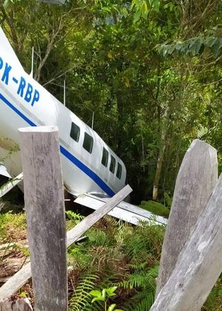 Pesawat Pengangkut Bansos di Papua Alami Kecelakaan, Tak Ada Korban Jiwa