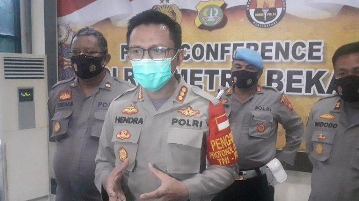 Delapan Polisi Terpapar Covid-19 Usai Amankan Demonstrasi di Bekasi