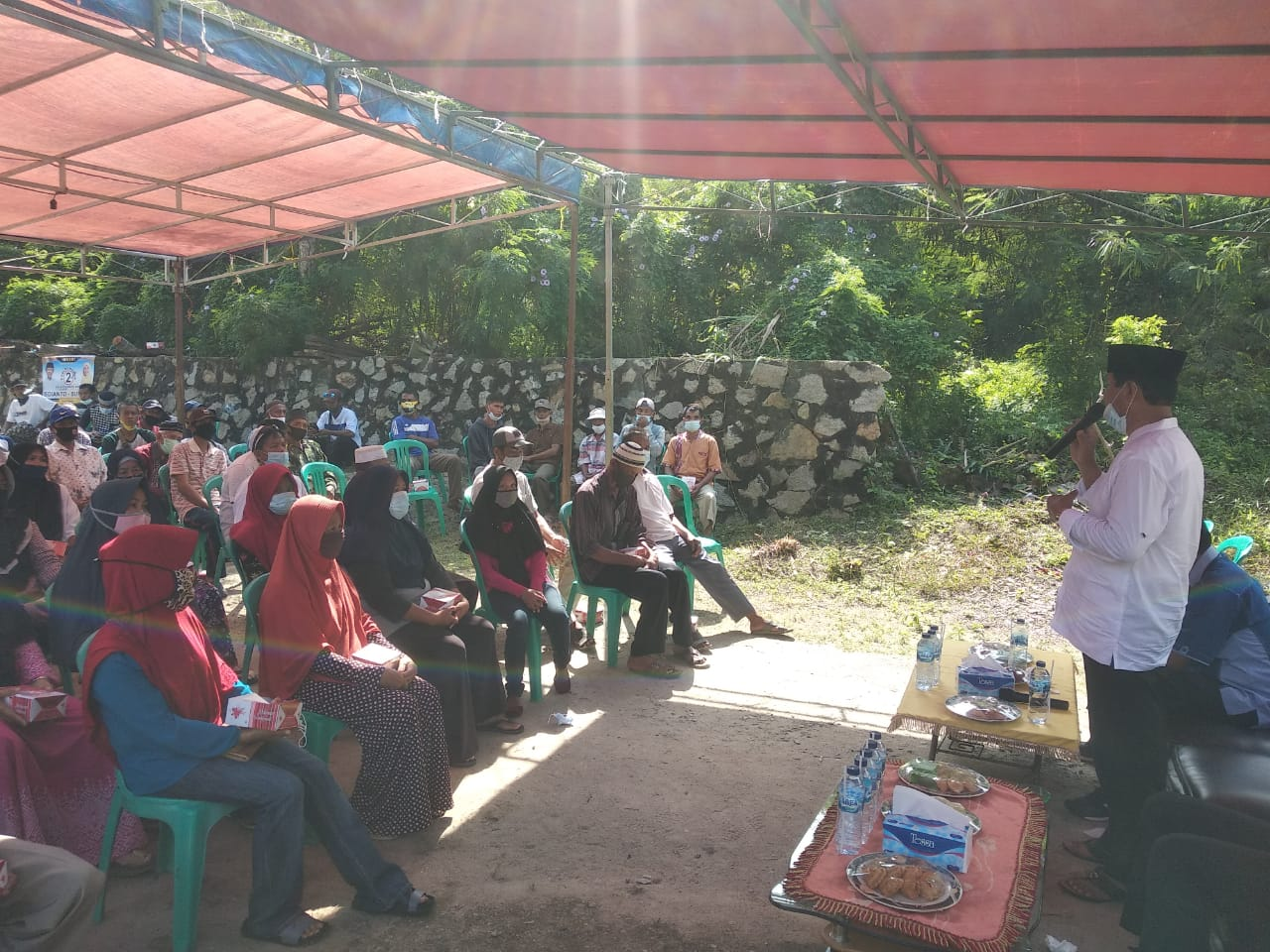 Program Subsidi Sekolah Swasta Pasangan Isdianto-Suryani Disambut Dukungan Warga Karimun