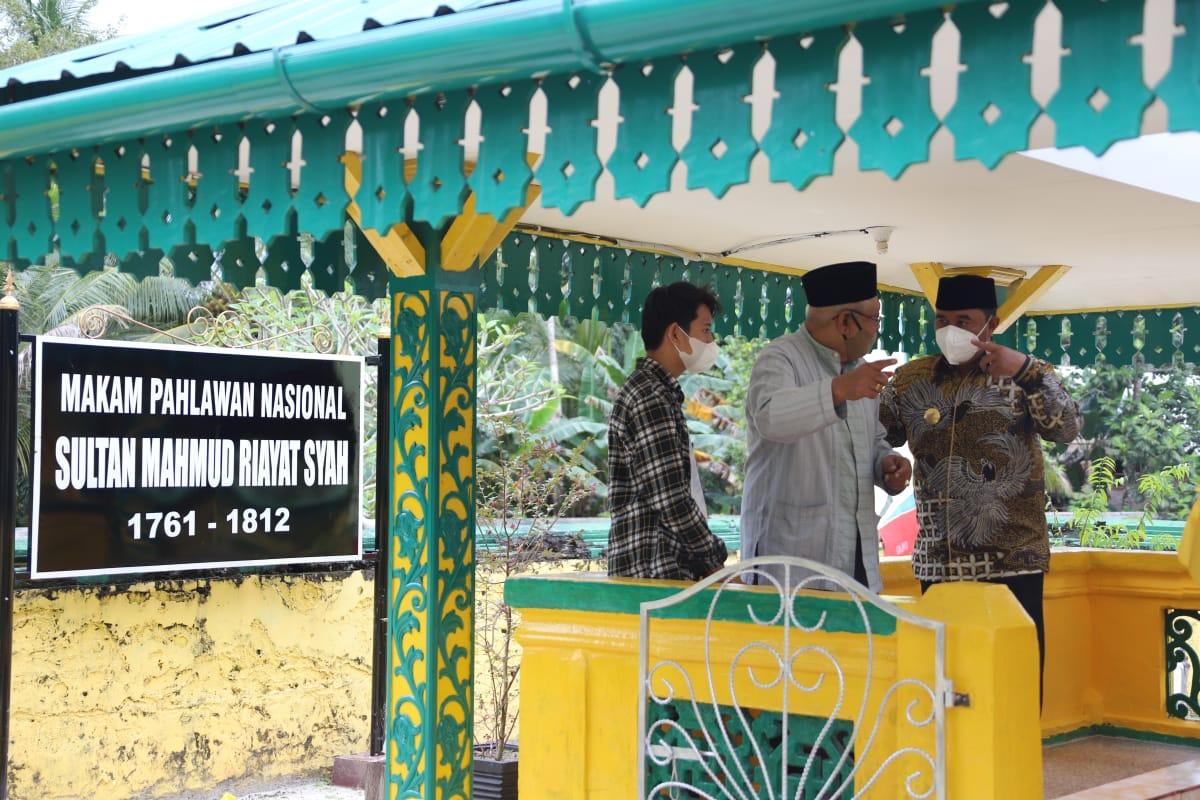 Ziarah ke Makam Sultan Mahmud Riayat Syah, Bahtiar Sebut Kehebatannya