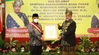 Bahtiar Terima Gelar Dato Wira Djaya