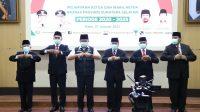 Herman Deru Lantik Ketua dan Pengurus BAZNAS Sumsel Periode 2020-2025