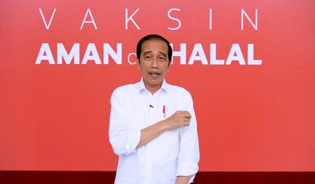 Ini Kesan Presiden Jokowi Setelah Divaksin COVID-19