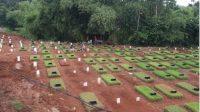 Angka Kematian Melonjak Drastis, Makam Khusus Pasien Covid-19 di Tangsel Penuh