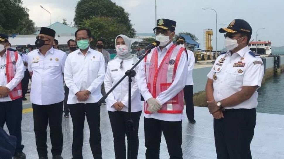 Resmikan Dermaga II Telaga Punggur Batam, Menhub: Komitmen Kami Bangun Konektivitas
