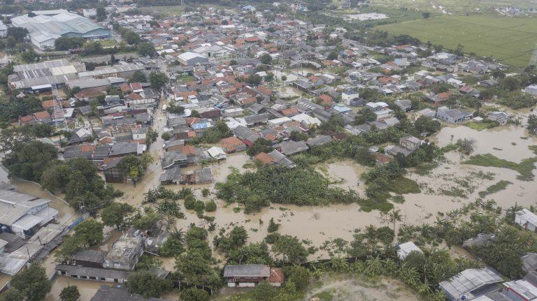 Sebagian Wilayah Bekasi Masih Tergenang Banjir, Muaragembong Capai Satu Meter