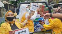 Respon Banjir di Jakarta dan Tangerang, Airin Rachmi Diany Instruksikan Kader KPPG Salurkan Bantuan