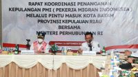 Gubernur Ansar – Menhub Budi Gelar Rakor Bahas Pemulangan PMI di Batam